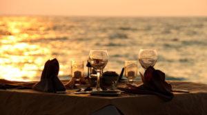 Sabato e domenica cena in riva al lago delle rose
