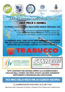 noi amici della pesca per la sclerosi multipla, gara di pesca per disabili al lago delle rose Arquà Petrarca