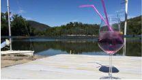 aperitivo viola di primavera ad Aprile al Lago delle Rose