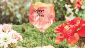 aperitivo rosa al lago delle rose