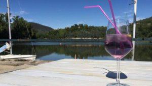 aperitivo domenica viola per primavera al Lago delle Rose