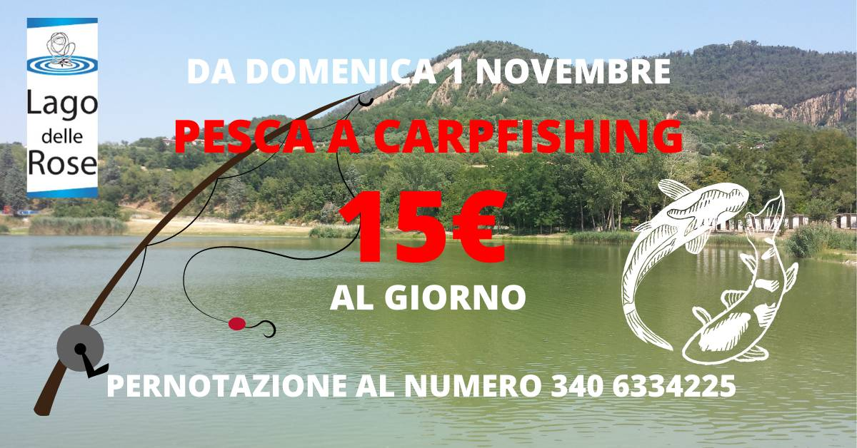 Carpfishing inverno 2020 a 15€