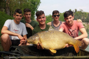 Scuola pesca Lago delle Rose